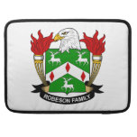 Escudo de la familia de Robeson Funda Macbook Pro
