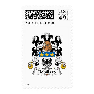 Escudo de la familia de Robillard Sellos