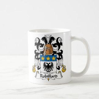 Escudo de la familia de Robillard Taza De Café