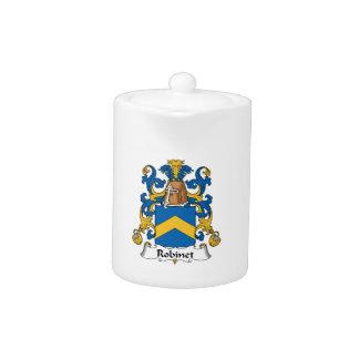 Escudo de la familia de Robinet
