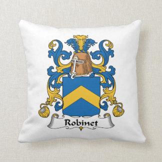 Escudo de la familia de Robinet Almohada