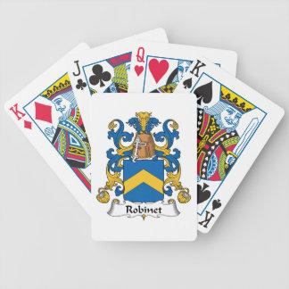 Escudo de la familia de Robinet Barajas De Cartas