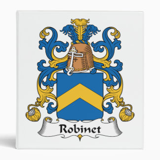 "Escudo de la familia de Robinet Carpeta 1"""