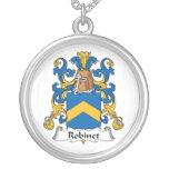 Escudo de la familia de Robinet Grimpolas