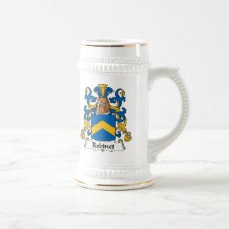 Escudo de la familia de Robinet Jarra De Cerveza