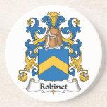Escudo de la familia de Robinet Posavaso Para Bebida