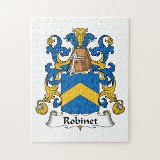 Escudo de la familia de Robinet Rompecabezas Con Fotos