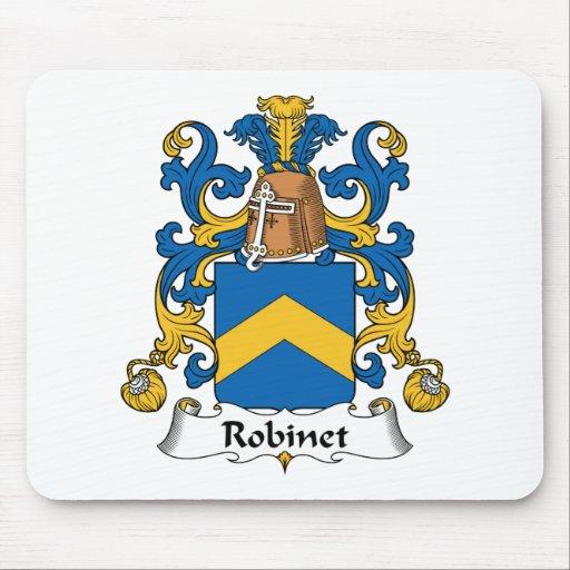 Escudo de la familia de Robinet Tapete De Raton