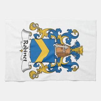 Escudo de la familia de Robinet Toalla De Cocina