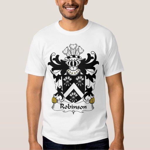 Escudo de la familia de Robinson Camisas