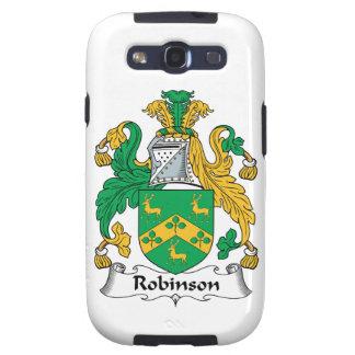 Escudo de la familia de Robinson Galaxy SIII Cárcasas