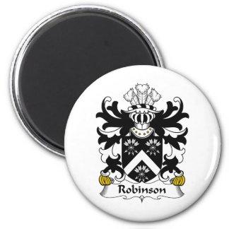 Escudo de la familia de Robinson Imán Redondo 5 Cm