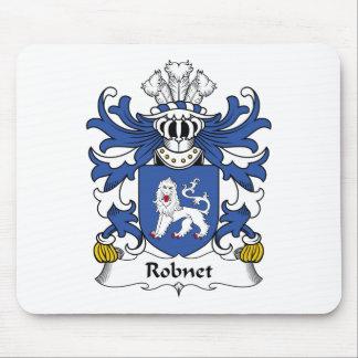 Escudo de la familia de Robnet Alfombrillas De Ratón