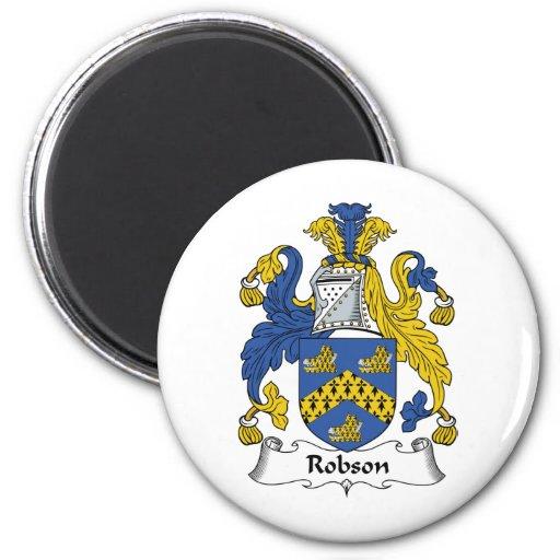 Escudo de la familia de Robson Imán Redondo 5 Cm