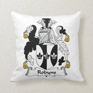 Escudo de la familia de Robyns Almohada