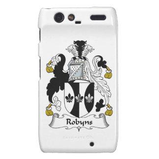Escudo de la familia de Robyns Droid RAZR Funda