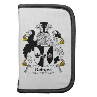 Escudo de la familia de Robyns Organizador