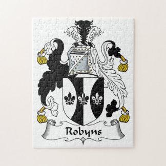 Escudo de la familia de Robyns Rompecabezas