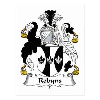 Escudo de la familia de Robyns Postal