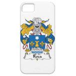 Escudo de la familia de Roca iPhone 5 Case-Mate Cárcasas