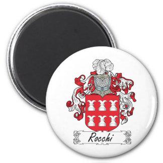 Escudo de la familia de Rocchi Imán Para Frigorífico