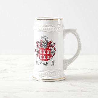 Escudo de la familia de Rocchi Tazas De Café