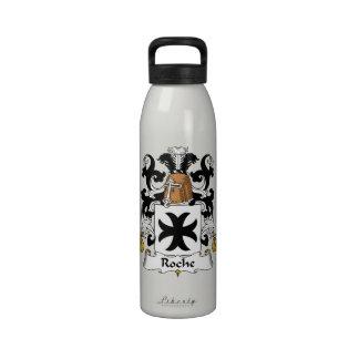 Escudo de la familia de Roche Botella De Agua
