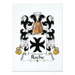 Escudo de la familia de Roche Invitaciones Personalizada