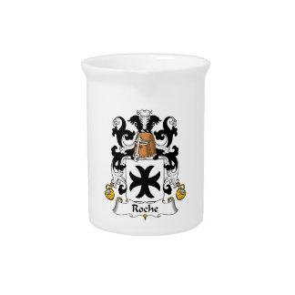 Escudo de la familia de Roche Jarrón