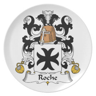 Escudo de la familia de Roche Platos