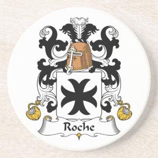 Escudo de la familia de Roche Posavasos Diseño