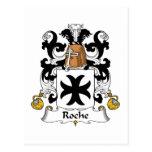 Escudo de la familia de Roche Postal