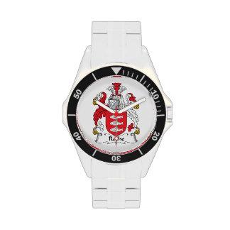 Escudo de la familia de Roche Reloj