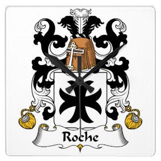 Escudo de la familia de Roche Relojes