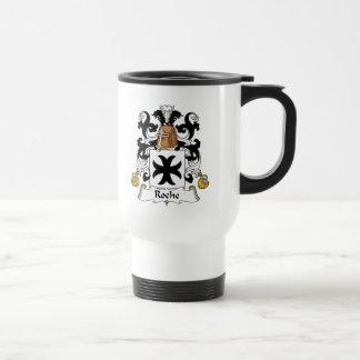 Escudo de la familia de Roche Tazas De Café