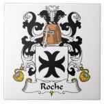 Escudo de la familia de Roche Tejas