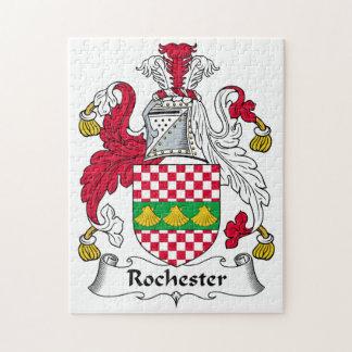 Escudo de la familia de Rochester Puzzles