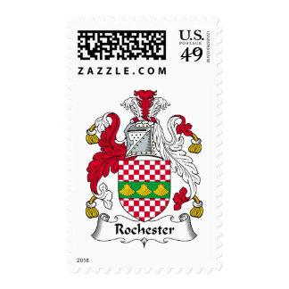 Escudo de la familia de Rochester Envio
