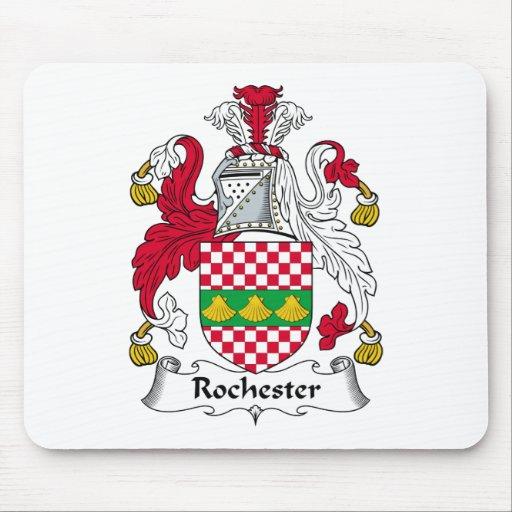 Escudo de la familia de Rochester Alfombrilla De Raton