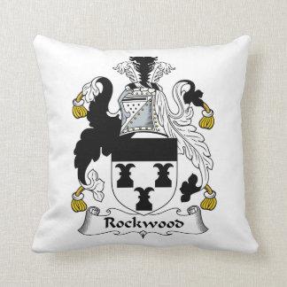 Escudo de la familia de Rockwood Cojines