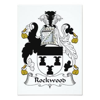 Escudo de la familia de Rockwood Invitacion Personalizada