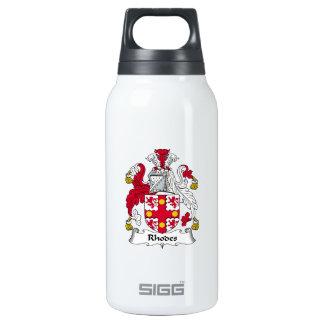 Escudo de la familia de Rodas Botella Isotérmica De Agua