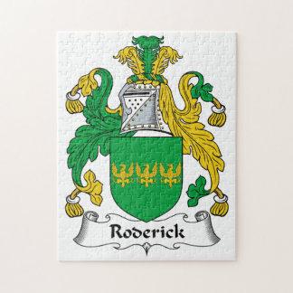 Escudo de la familia de Roderick Rompecabezas