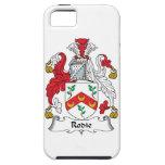 Escudo de la familia de Rodie iPhone 5 Case-Mate Carcasa