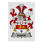 Escudo de la familia de Rodon Impresiones