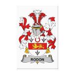 Escudo de la familia de Rodon Impresiones En Lona Estiradas