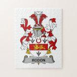 Escudo de la familia de Rodon Puzzle Con Fotos