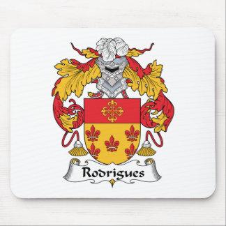 Escudo de la familia de Rodrigues Tapetes De Ratones
