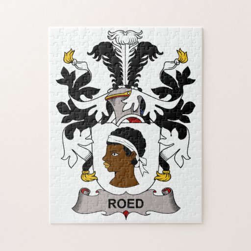 Escudo de la familia de Roed Puzzle Con Fotos