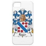 Escudo de la familia de Rogelio iPhone 5 Cárcasas